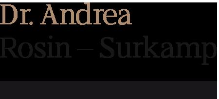 Dr Andrea Rosin Surkamp
